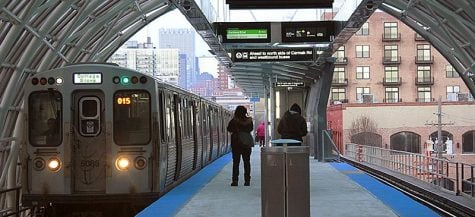 McCormick Green Line stop opens