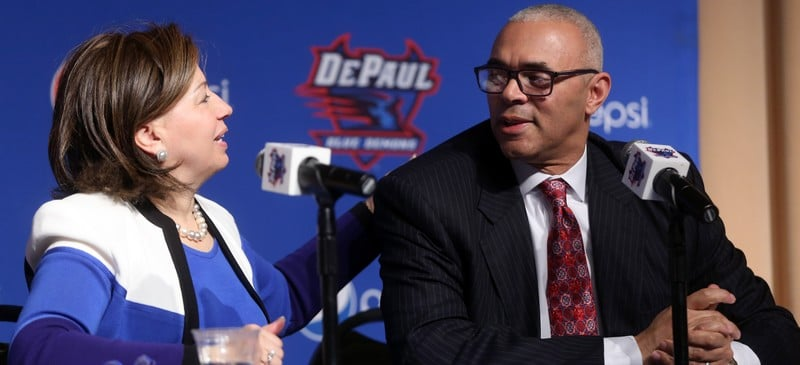 DePaul athletic director Lenti Ponsetto raises stakes with Leitao hire