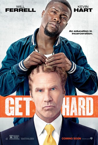 "Kevin Hart and Will Ferrell star in ""Get Hard."" (Photo courtesy of WARNER BROS. PICTURES)"