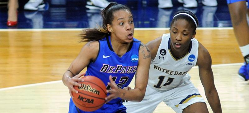 DePaul womens basketballs season ends with 79-67 loss to Notre Dame