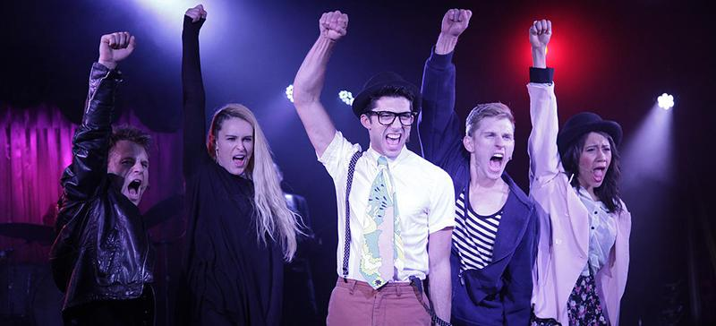 """The Los Angeles-based """"For the Record"""" series of performances brings 1980s teen movie classics like """"The Breakfast Club"""" and """"Ferris Bueller's Day Off"""" to a musical theater production in Chicago.  (Photo courtesy of For the Record Live)"""