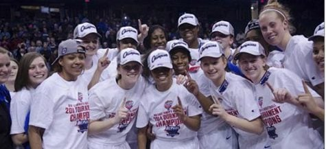 DePaul will attempt to defend their 2014 Big East tournament title March 7-10 at the Allstate Arena. (DePaulia File)