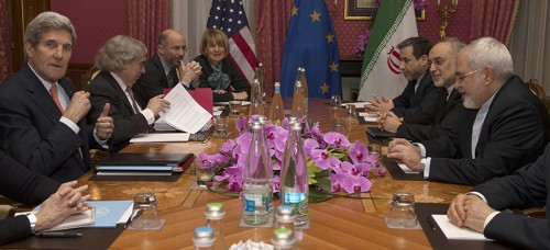 World leaders negotiate a deal limiting Iran's nuclear program in exchange for the cessation of economic sanctions against Iran. (AP Photo/Brian Snyder, Pool, FILE)
