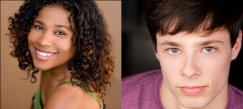 """""""Book of Mormon"""" cast members Melanie Brezill (left) and Cory Hummerston (right). (Photos courtesy of Brezill and Hummerston)"""