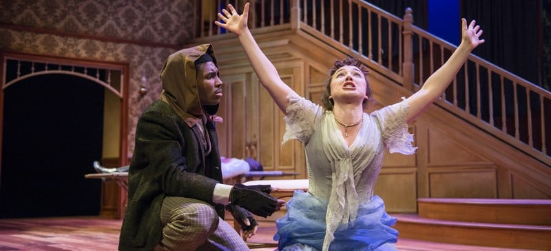 """The Theatre School's production of John Webster's """"The Duchess of Malfi"""" runs at the Fullerton Stage through April 26. (Photo courtesy of Michael Brosilow)"""