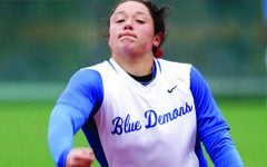 Blue Demon softball sweeps weekly honors