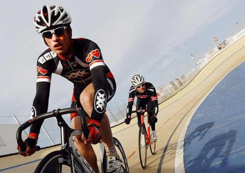 Places like the CVA (above) have seen a rise in fixed-gear bikes. (Photo courtesy of South Chicago Velodrome Association)
