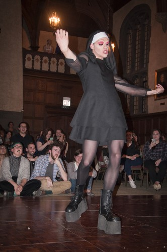 Drag shows have evolved since the golden age of ball culture in the '80s to encompass a variety of styles, from pageantry to comedy. (Photo courtesy of Taylor Gillen)