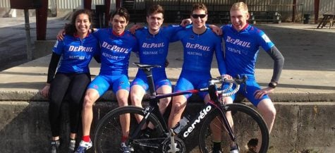 DePaul Cycling Club takes road to success
