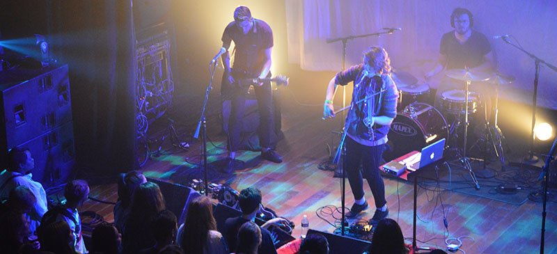 Scout Ripley performs at Battle 2015 at Lincoln Hall. (Kevin Quin / The DePaulia)
