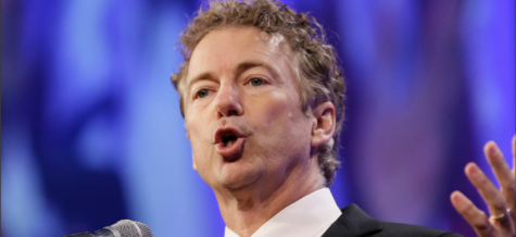 Senator Rand Paul delivered a filibuster nearly 11 hours long in protest of the Patriot Act. (Charlie Neibergall   AP)