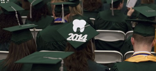 Students graduating from community colleges like College of DuPage (above) and Harry S. Truman College save money, and many transfer to larger universities. Many DePaul transfer students count themselves as alumni of the College of DuPage, located in Chicago's western suburbs, and Harry S. Truman College in Chicago's Uptown neighborhood. Graduates from Chicago Public Schools who maintained a B average in high school get free tuition at Truman. (Photo courtesy of COD Newsroom)