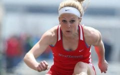 Ashley Holden reflects on end of track career at DePaul