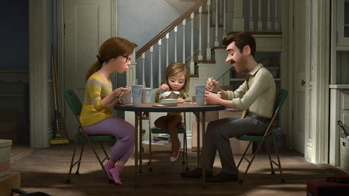 Director Pete Docter said he came up with the concept behind the film after watching his own 11-year-old daughter grow up.  (Photo courtesy of Walt Disney Pictures)