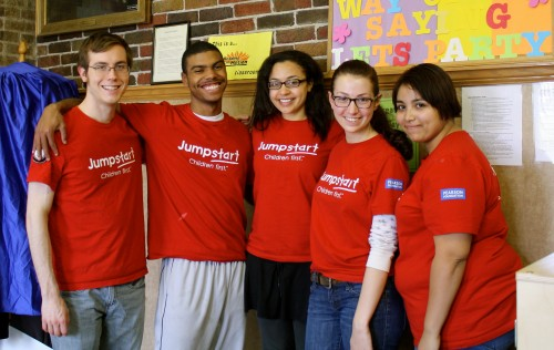 More than 70 DePaul students are currently a part of the Jumpstart program.