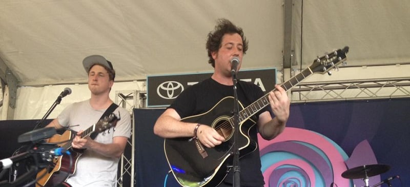 1 band, 3 shows: 24 hours of The Wombats