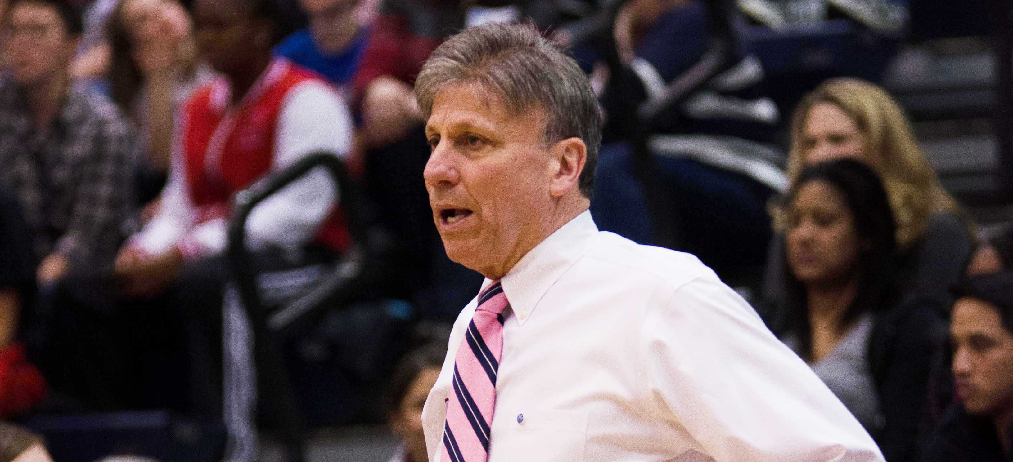 DePaul head coach Doug Bruno has led the Blue Demons to third Big East Tournament titles in the last five seasons.  (Photo Courtesy of DePaul Athletics)
