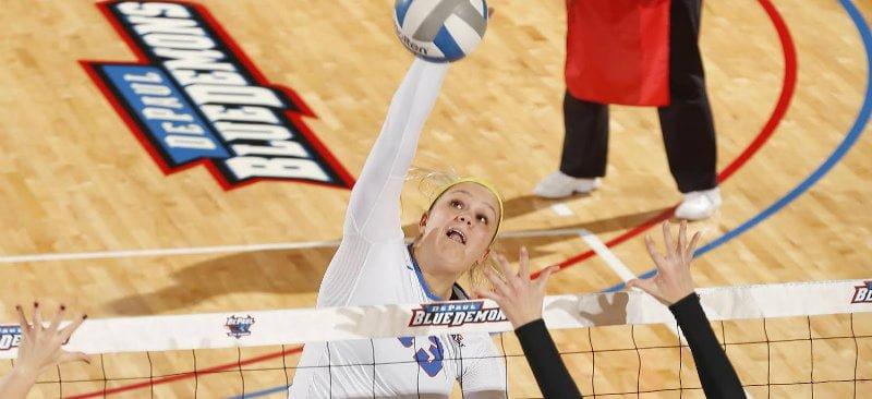 DePaul women's volleyball relies on Coffey