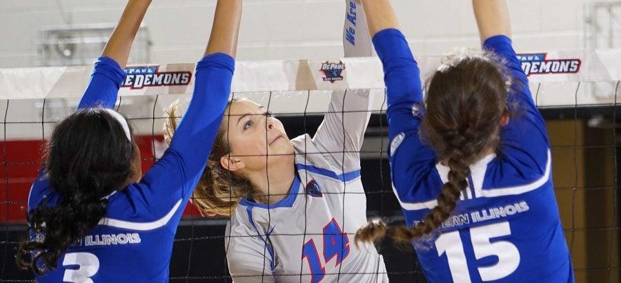 Freshmen adjust to college volleyball schedules