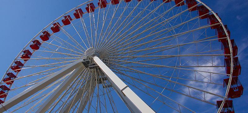 Navy Pier ferris wheel takes its final turns