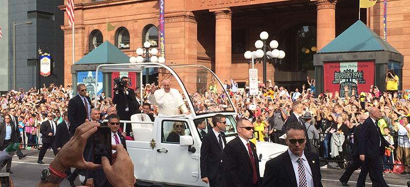 Pope Francis' visit to US impacts DePaul