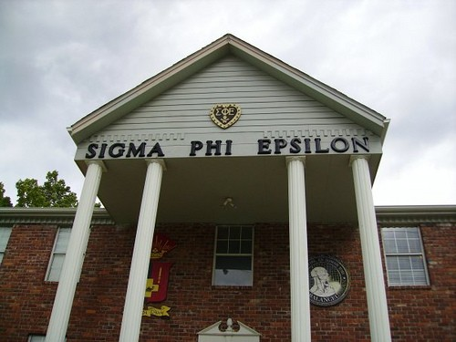 A Sigma Phi Epsilon fraternity house at Kansas University. The fraternity, which has a DePaul chapter, voted this summer to allow transgender men in, the first non-LGBTQ Greek organization to do so. Photo courtesy of SigEp NV Alpha '03   Creative Commons.