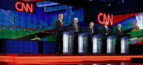 First democratic debate: battle of the 'progressives'