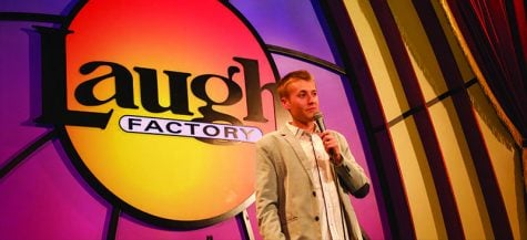 DePaul comedian youngest to host Laugh Factory's coveted slot