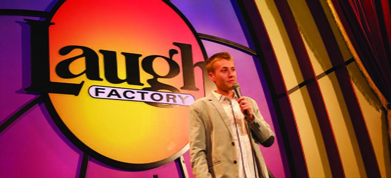 DePaul comedian youngest to host Laugh Factorys coveted slot