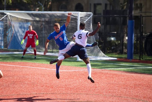 DePaul put up another good defensive performance against a top team, but could not hold No. 10 Georgetown as they fell 1-0 on Saturday.  (Josh Leff / The DePaulia)