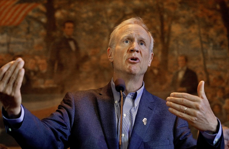 The Illinois House of Representatives failed to override a veto of a bill that would restore MAP grant and higher education funding. FILE (AP Photo/Seth Perlman, File)