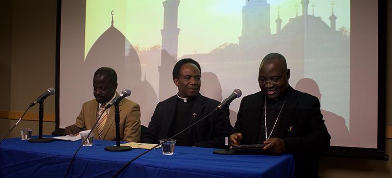 Nigerian archbishop visits DePaul to discuss Catholic-Muslim relations