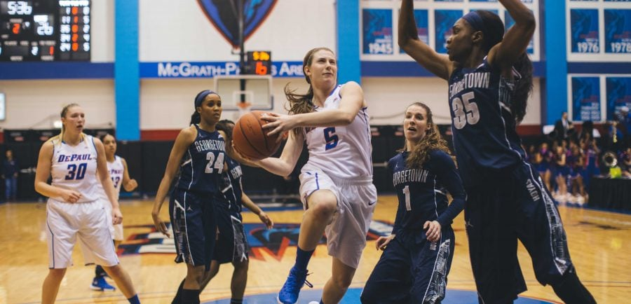 High intensity leads womens basketball