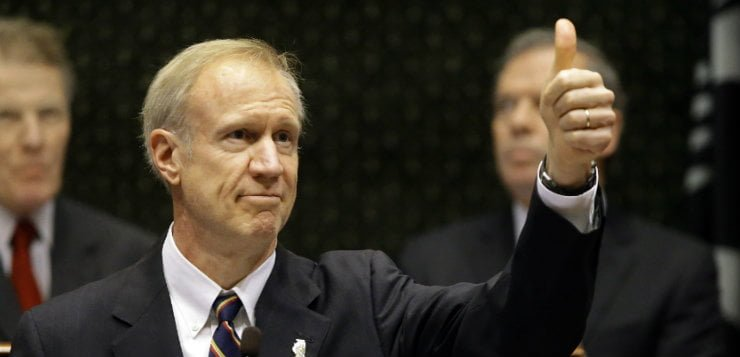 With no budget, Rauner repeats calls for pro-business reform