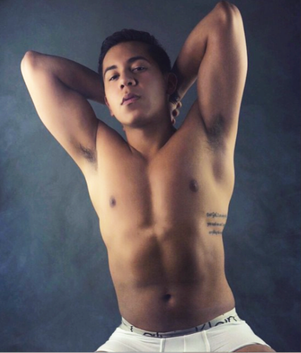 DePaul student Miguel Zambrano achieved his goals and signed to a modeling agency after facing years of adversity for his sexual orientation and weight and overcoming an eating disorder. (Photo courtesy of MIGUEL ZAMBRANO)