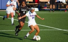 Defender Sarah Gorden is the first DePaul women's soccer player to be drafted. (Grant Myatt / The DePaulia)