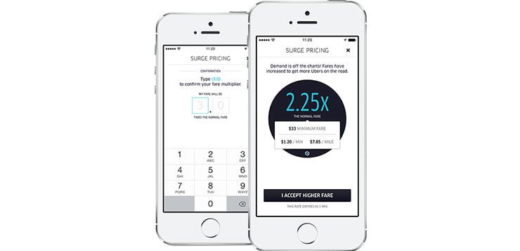 Users groundless in complaints of New Year's Eve Uber surge pricing