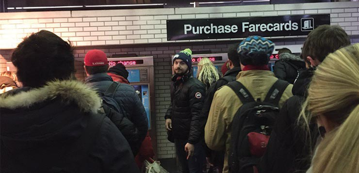 Students report UPass error on first day of Winter Quarter