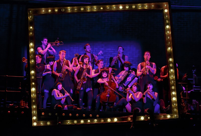 "The 2016 National Touring cast of Roundabout Theatre Company's ""Cabaret."" The play opens Feb. 9 in Chicago at the PrivateBank Theatre and runs until Feb. 21. (Photo courtesy of Joan Marcus)"