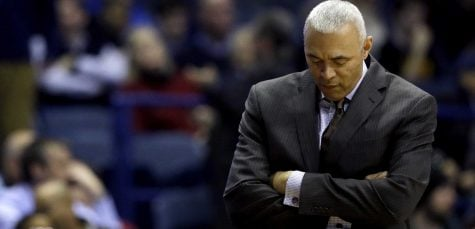 Dave Leitao's first year back has seen some progress, but many of the old frustrations remain. (photo courtesy of Nam Y. Huh | ASSOCIATED PRESS)