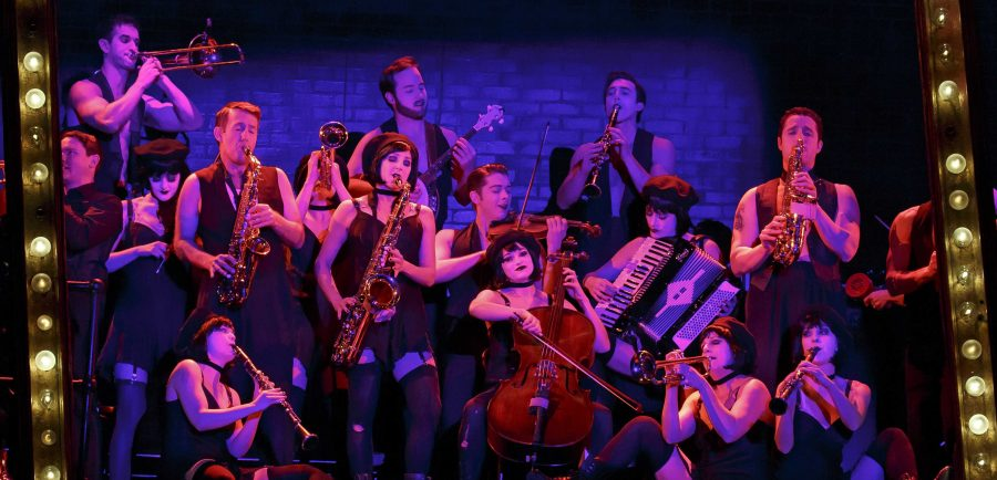 """The 2016 National Touring cast of Roundabout Theatre Company's """"Cabaret."""" The play opens Feb. 9 in Chicago at the PrivateBank Theatre and runs until Feb. 21. (Photo courtesy of Joan Marcus)"""