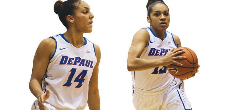 Chanise Jenkins and Jessica January lead DePaul to another successful season