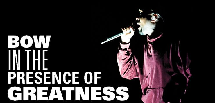 The presence of greatness: An adoration of Kanye West