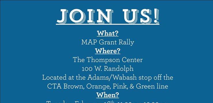 SGA organizes MAP grant rally