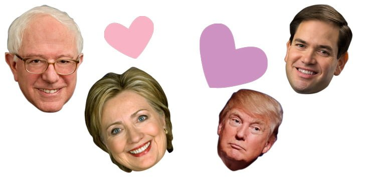 Which+presidential+candidate+should+be+your+Valentine%3F