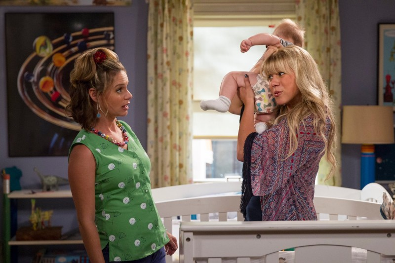 """The """"Full House"""" reboot, """"Fuller House,"""" features all the cast members of the original series with the exception of the Olsen twins. The show has received negative reviews, but shouldn't have been held to such high expectations in the first place. (Photo courtesy of NETFLIX)"""