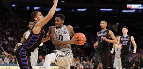 Big East tournament: DePaul handily defeated by Georgetown 70-53