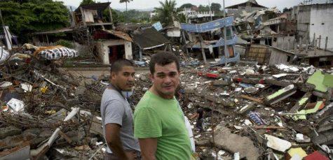 Earthquake devastates Ecuador