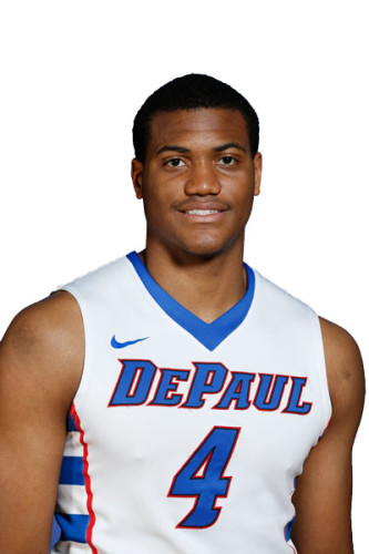Frederick Scott (Photo courtesy of DEPAUL ATHLETICS)