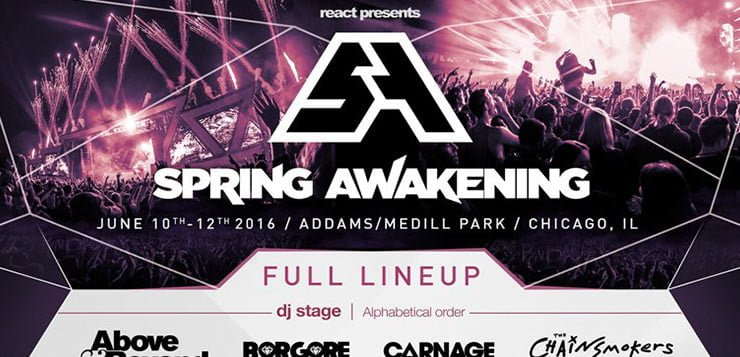 After location issues, Spring Awakening announces 2016 lineup
